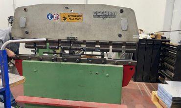 Piegatrice idraulica SCHIAVI RG 2000×50 Ton.