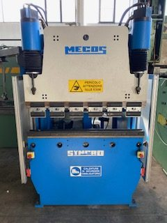 Piegatrice idraulica MECOS 1250×30 Ton.